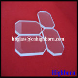 Parte di vetro di quarzo del silicone del taglio del bobinatoio a cono di resistenza di Corrosison