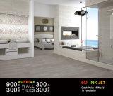 mattonelle di ceramica interne della parete lustrate nuovo getto di inchiostro di disegno di 300X900mm