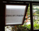 絶縁のガラス窓は手動盲目に間ガラスを盲目にする