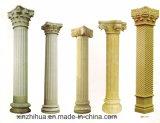 Fléau romain cannelé découpé creux de fléau de marbre de fléau de marbre de /Solid