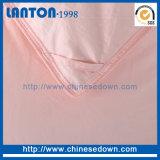 Coperchio del Duvet del fronte di /Double del Duvet di Colordown di colore rosa del tessuto di cotone