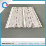 panneau de plafond estampé de PVC de panneau de mur de PVC de cannelure de milieu de 20cm pour la cuisine
