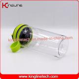 botella de la coctelera de la proteína 600ml con el mezclador plástico (KL-7035)