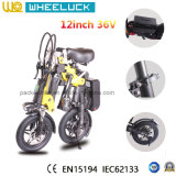 Самые популярные мини складной электрический велосипед с 250W предусмотрен ряд функций двигателя