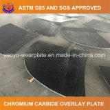 Биметаллическая составная плита износа верхнего слоя