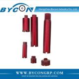 Byconのレーザーによって溶接されたダイヤモンドの穿孔機は鉄筋コンクリートのためにか花こう岩または大理石または石かんだ