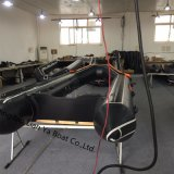 Barca gonfiabile di salvataggio di Liya 2m-6.5m con materiale a prova di proiettile a prova di fuoco