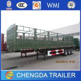 Hochleistungsladung-LKW-Schlussteil des zaun-40ton für Verkauf