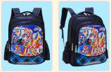 Cinco elegante Bolsa Escola Infantil Cartoon Fotos Mochila Escolar Saco de ombro com duas vezes para o aluno da escola primária Studets