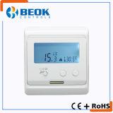 Tol52s En 보온장치 백색 뒤 빛을%s 가진 전기 지면 난방 LCD