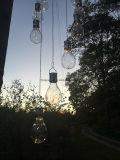 Qualitäts-neuer Entwurfs-hängendes helles Plastiksolargarten-Solarlicht mit warmem Weiß LED Lightchain