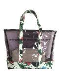 فصل صيف طبعة جمال سيدات شاطئ حقيبة حمل شاطئ حقيبة فسحة [بفك] وبوليستر زهرة طبعات يجعل