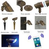 고급장교 RGB LED 스포트라이트 또는 반점 빛 /Outdoor 스포트라이트는 백색을 데운다