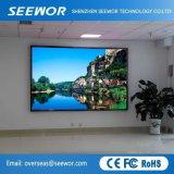 Schnelle Installations-Schrank P3mm farbenreiche LED-Innenbildschirmanzeige für Mietstadium