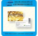 Impresión plástica de la tarjeta del PVC