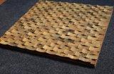 La parete delle coperture di Capiz copre di tegoli Nizza le coperture del fiume del mosaico delle mattonelle della parete del mosaico delle coperture della noce di cocco