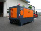 De aanhangwagen Opgezette Compressor Met motor van de Diesel Lucht van de Schroef zonder Wiel