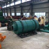 Bajo consumo de la máquina de secado secador rotativo de tres cilindros de escoria, la arcilla