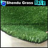 Темно-зеленый с высокой плотностью китайский искусственном газоне для украшения