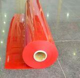A cortina macia flexível da tira do PVC marcada e alisa a superfície