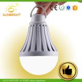 LEDの再充電可能な球根5W 7W 9W 85-265Vの非常灯