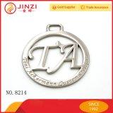 Jinzi Beutel-Befestigungsteil-Befestigungs-Metallfirmenzeichen mit graviertem Firmenzeichen
