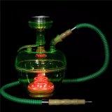 De Vaas + de Pijpen van het water voor de Rokende de e-Sigaret van de Waterpijp van Cigarett Shisha van de Pijp van het Glas van de Staaf Shisha Rokende Mini Elektronische Verstuiver van de Pijp van de Waterpijp van het Glas Rokende
