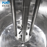 ホモジェナイザーが付いているステンレス鋼のボディークリームの乳状になるタンク