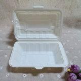 Boîte remplaçable campante biodégradable à aliments de préparation rapide de cadre de conditionnement des aliments de la Chine