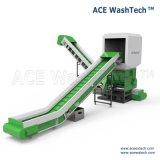 Exécution simple et système de séchage de lavage en plastique souillé pertinent de broyage de déchets