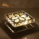 Candeeiro de tecto de cristal de venda quente travando Luz Pendente