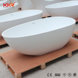 Vasca da bagno di pietra indipendente di prezzi poco costosi del fornitore della Cina