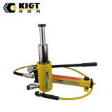 Hochleistungs--Doppeltes wirkender 3 Stadiums-hydraulische Stoßheber-Zylinder
