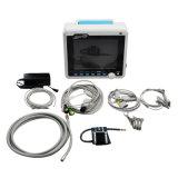 Animale veterinario del controllare di temperatura SpO2 del video paziente ECG di certificazione della FDA con la clip termica del polsino degli accessori del registratore - Javier