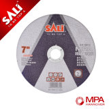 "Sali 5 "" 금속을%s 작풍에 의하여 강화되는 최고 얇은 절단 디스크"