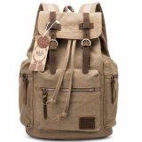Commerce de gros sac personnalisé Outdoor Vintage toile sac sac à dos de l'école