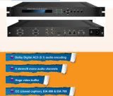 HPS801b MPEG-2 HD H. 264 Kodierer mit Asi, IP-Ausgabe