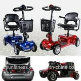 De Goedkope Autoped van uitstekende kwaliteit van de Mobiliteit van het Elektrische voertuig Vierwielige voor Misvorming