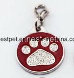 Etiqueta accesoria de la identificación del perro de las etiquetas conocidas del perrito del animal doméstico