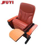 工場価格多彩なファブリックシートの木のArmrestの折りたたみ椅子