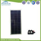 Pila solare del poli del comitato solare di alta efficienza 100W modulo di PV