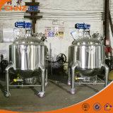 アジテータとの電気熱くするステンレス鋼500L移動可能な混合タンク圧力