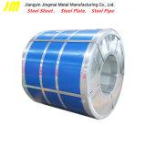 亜鉛はカラーによって塗られた鋼鉄PPGIコイルのSGCCによって電流を通されたコイルをPrepainted