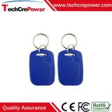 Tag RFID imperméable à l'eau passif de Keyfob 125kHz d'ABS de qualité avec Em4105