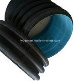 300mm HDPE doppel-wandige Furchung-Rohre
