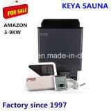 12 voltios de la estufa portátil calentador sauna de vapor seco