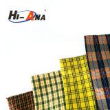 Tessuto di cotone tinto filato disponibile di colore del campione libero multi