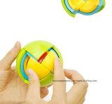 juguete plástico inteligente del globo del rompecabezas del globo 3D, tarjeta de enseñanza 3D para los niños