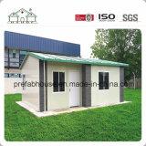 Hogar prefabricado certificado ISO internacional de la casa prefabricada de la estructura de acero ligera
