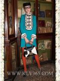 Späteste Form-Herbst-Frauen-Kleidung-lange Hülsen-Luxuxbeleg-Kleid